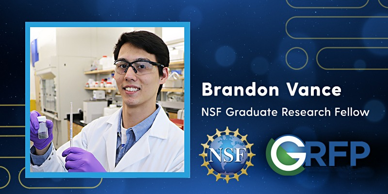 Brandon Vance NSF Graduate Research Fellow